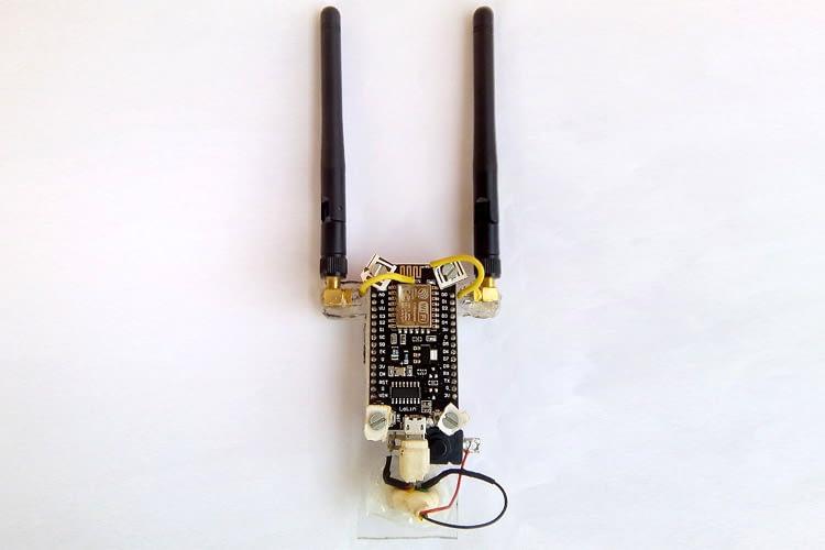 Wi Fi Repeater using NodeMC