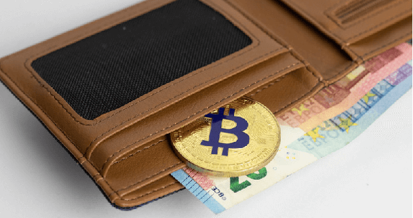 bitcoin in purse