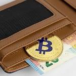 bitcoin in purse