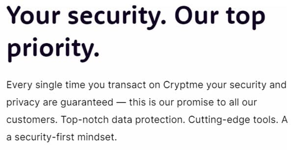 Clients can gain a lot of advantages - Cryptme Review 2021